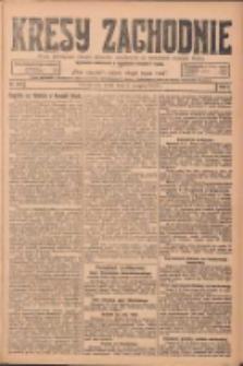 Kresy Zachodnie: pismo poświęcone obronie interesów narodowych na zachodnich ziemiach Polski 1924.08.06 R.2 Nr146