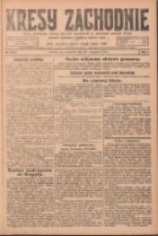 Kresy Zachodnie: pismo poświęcone obronie interesów narodowych na zachodnich ziemiach Polski 1924.08.14 R.2 Nr153