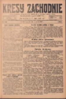 Kresy Zachodnie: pismo poświęcone obronie interesów narodowych na zachodnich ziemiach Polski 1924.08.15 R.2 Nr154