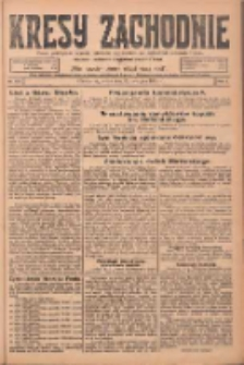 Kresy Zachodnie: pismo poświęcone obronie interesów narodowych na zachodnich ziemiach Polski 1924.08.20 R.2 Nr157