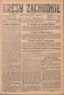 Kresy Zachodnie: pismo poświęcone obronie interesów narodowych na zachodnich ziemiach Polski 1924.08.21 R.2 Nr158