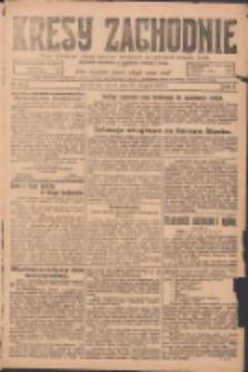 Kresy Zachodnie: pismo poświęcone obronie interesów narodowych na zachodnich ziemiach Polski 1924.08.23 R.2 Nr160