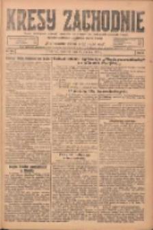 Kresy Zachodnie: pismo poświęcone obronie interesów narodowych na zachodnich ziemiach Polski 1924.08.28 R.2 Nr164