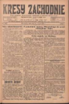 Kresy Zachodnie: pismo poświęcone obronie interesów narodowych na zachodnich ziemiach Polski 1924.08.29 R.2 Nr165