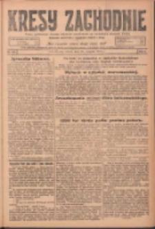 Kresy Zachodnie: pismo poświęcone obronie interesów narodowych na zachodnich ziemiach Polski 1924.08.30 R.2 Nr166