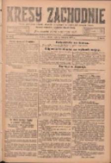 Kresy Zachodnie: pismo poświęcone obronie interesów narodowych na zachodnich ziemiach Polski 1924.09.02 R.2 Nr168