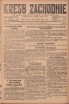 Kresy Zachodnie: pismo poświęcone obronie interesów narodowych na zachodnich ziemiach Polski 1924.09.04 R.2 Nr170