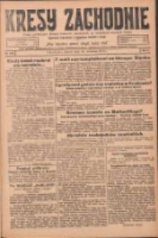 Kresy Zachodnie: pismo poświęcone obronie interesów narodowych na zachodnich ziemiach Polski 1924.09.16 R.2 Nr180