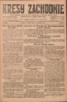 Kresy Zachodnie: pismo poświęcone obronie interesów narodowych na zachodnich ziemiach Polski 1924.09.17 R.2 Nr181