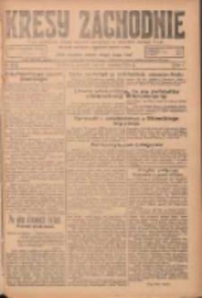 Kresy Zachodnie: pismo poświęcone obronie interesów narodowych na zachodnich ziemiach Polski 1924.09.18 R.2 Nr182