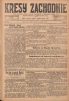 Kresy Zachodnie: pismo poświęcone obronie interesów narodowych na zachodnich ziemiach Polski 1924.09.24 R.2 Nr187