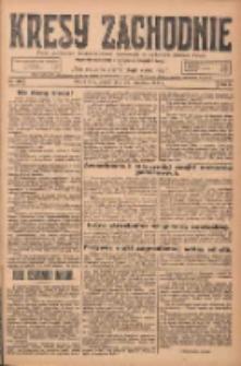 Kresy Zachodnie: pismo poświęcone obronie interesów narodowych na zachodnich ziemiach Polski 1924.09.26 R.2 Nr189