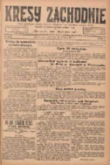 Kresy Zachodnie: pismo poświęcone obronie interesów narodowych na zachodnich ziemiach Polski 1924.09.30 R.2 Nr192