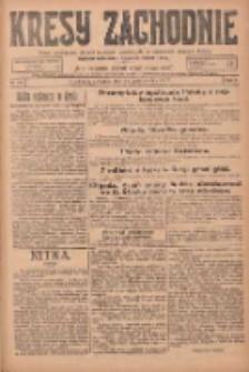 Kresy Zachodnie: pismo poświęcone obronie interesów narodowych na zachodnich ziemiach Polski 1924.10.16 R.2 Nr206