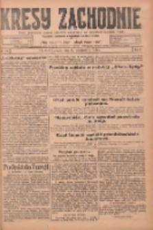 Kresy Zachodnie: pismo poświęcone obronie interesów narodowych na zachodnich ziemiach Polski 1924.10.31 R.2 Nr219