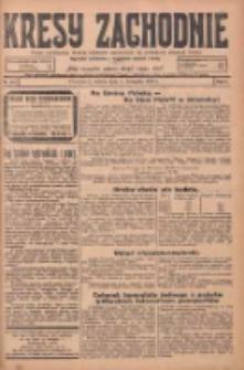 Kresy Zachodnie: pismo poświęcone obronie interesów narodowych na zachodnich ziemiach Polski 1924.11.01 R.2 Nr220