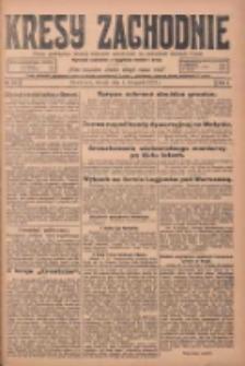 Kresy Zachodnie: pismo poświęcone obronie interesów narodowych na zachodnich ziemiach Polski 1924.11.04 R.2 Nr221