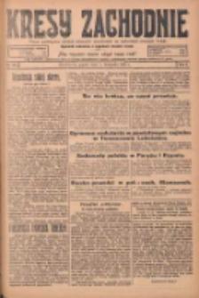Kresy Zachodnie: pismo poświęcone obronie interesów narodowych na zachodnich ziemiach Polski 1924.11.07 R.2 Nr224
