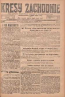 Kresy Zachodnie: pismo poświęcone obronie interesów narodowych na zachodnich ziemiach Polski 1924.11.13 R.2 Nr229