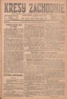 Kresy Zachodnie: pismo poświęcone obronie interesów narodowych na zachodnich ziemiach Polski 1924.11.18 R.2 Nr233