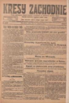 Kresy Zachodnie: pismo poświęcone obronie interesów narodowych na zachodnich ziemiach Polski 1924.11.19 R.2 Nr234
