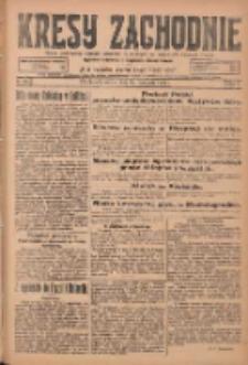 Kresy Zachodnie: pismo poświęcone obronie interesów narodowych na zachodnich ziemiach Polski 1924.11.22 R.2 Nr237