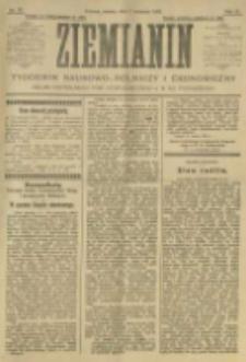 Ziemianin. Tygodnik naukowo-rolniczy i ekonomiczny; organ Centralnego Towarzystwa Gospodarczego w Wielkiem Księstwie Poznańskiem 1905.04.01 R.55 Nr13