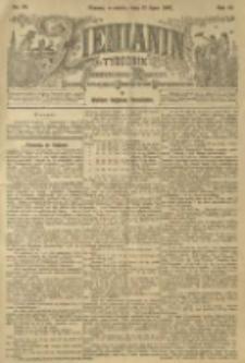 Ziemianin. Tygodnik przemysłowo-rolniczy; organ Centralnego Towarzystwa Gospodarczego w Wielkiem Księstwie Poznańskiem 1901.07.13 R.51 Nr28