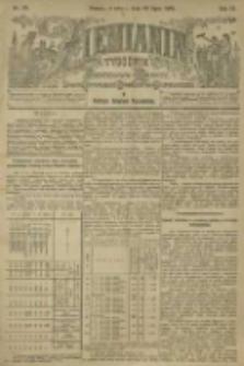 Ziemianin. Tygodnik przemysłowo-rolniczy; organ Centralnego Towarzystwa Gospodarczego w Wielkiem Księstwie Poznańskiem 1901.07.20 R.51 Nr29