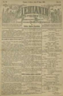 Ziemianin. Tygodnik przemysłowo-rolniczy; organ Centralnego Towarzystwa Gospodarczego w Wielkiem Księstwie Poznańskiem 1901.07.27 R.51 Nr30