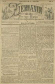Ziemianin. Tygodnik przemysłowo-rolniczy; organ Centralnego Towarzystwa Gospodarczego w Wielkiem Księstwie Poznańskiem 1901.12.28 R.51 Nr52