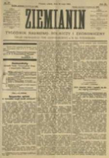Ziemianin. Tygodnik naukowo-rolniczy i ekonomiczny; organ Centralnego Towarzystwa Gospodarczego w Wielkiem Księstwie Poznańskiem 1905.05.20 R.55 Nr20