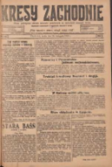 Kresy Zachodnie: pismo poświęcone obronie interesów narodowych na zachodnich ziemiach Polski 1924.11.26 R.2 Nr240