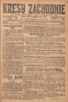 Kresy Zachodnie: pismo poświęcone obronie interesów narodowych na zachodnich ziemiach Polski 1924.12.11 R.2 Nr252