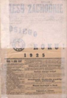 Kresy Zachodnie: pismo poświęcone obronie interesów narodowych na zachodnich ziemiach Polski 1925.01.01 R.3 Nr1