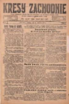 Kresy Zachodnie: pismo poświęcone obronie interesów narodowych na zachodnich ziemiach Polski 1925.01.11 R.3 Nr8