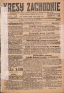 Kresy Zachodnie: pismo poświęcone obronie interesów narodowych na zachodnich ziemiach Polski 1925.01.13 R.3 Nr9