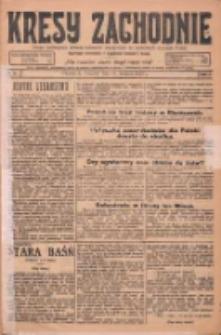 Kresy Zachodnie: pismo poświęcone obronie interesów narodowych na zachodnich ziemiach Polski 1925.01.15 R.3 Nr11
