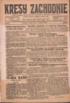 Kresy Zachodnie: pismo poświęcone obronie interesów narodowych na zachodnich ziemiach Polski 1925.01.17 R.3 Nr13