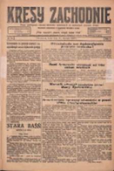 Kresy Zachodnie: pismo poświęcone obronie interesów narodowych na zachodnich ziemiach Polski 1925.01.21 R.3 Nr16
