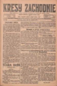 Kresy Zachodnie: pismo poświęcone obronie interesów narodowych na zachodnich ziemiach Polski 1925.01.24 R.3 Nr19