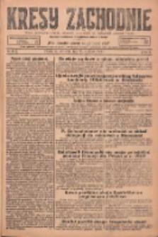 Kresy Zachodnie: pismo poświęcone obronie interesów narodowych na zachodnich ziemiach Polski 1925.01.25 R.3 Nr20