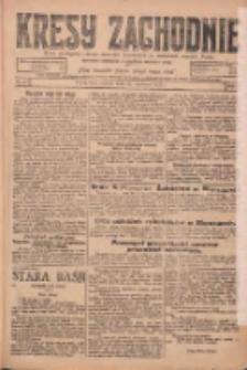 Kresy Zachodnie: pismo poświęcone obronie interesów narodowych na zachodnich ziemiach Polski 1925.01.27 R.3 Nr21