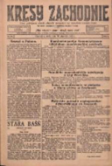 Kresy Zachodnie: pismo poświęcone obronie interesów narodowych na zachodnich ziemiach Polski 1925.01.28 R.3 Nr22