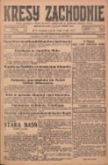 Kresy Zachodnie: pismo poświęcone obronie interesów narodowych na zachodnich ziemiach Polski 1925.01.29 R.3 Nr23