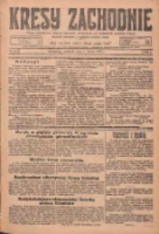 Kresy Zachodnie: pismo poświęcone obronie interesów narodowych na zachodnich ziemiach Polski 1925.02.01 R.3 Nr26