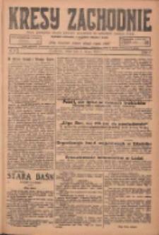 Kresy Zachodnie: pismo poświęcone obronie interesów narodowych na zachodnich ziemiach Polski 1925.02.04 R.3 Nr27