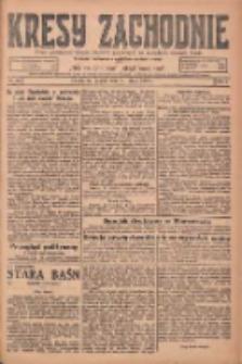 Kresy Zachodnie: pismo poświęcone obronie interesów narodowych na zachodnich ziemiach Polski 1925.02.06 R.3 Nr29