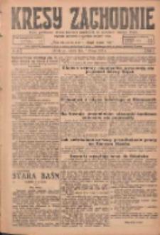 Kresy Zachodnie: pismo poświęcone obronie interesów narodowych na zachodnich ziemiach Polski 1925.02.07 R.3 Nr30