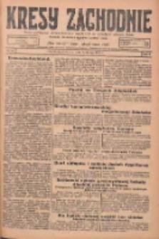 Kresy Zachodnie: pismo poświęcone obronie interesów narodowych na zachodnich ziemiach Polski 1925.02.08 R.3 Nr31